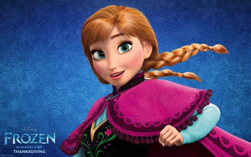 Disney Frozen Anna 1280x800