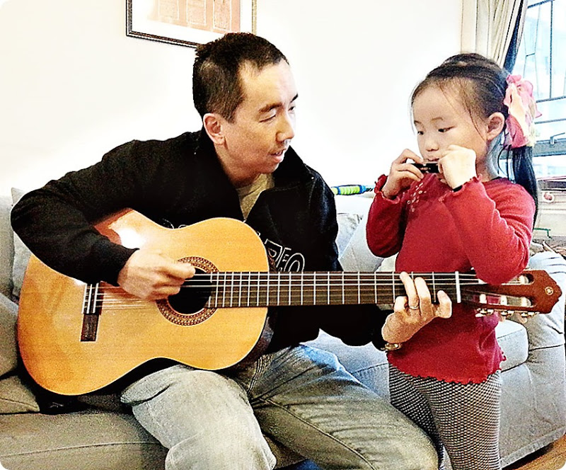 Making-Music-with-Daddy
