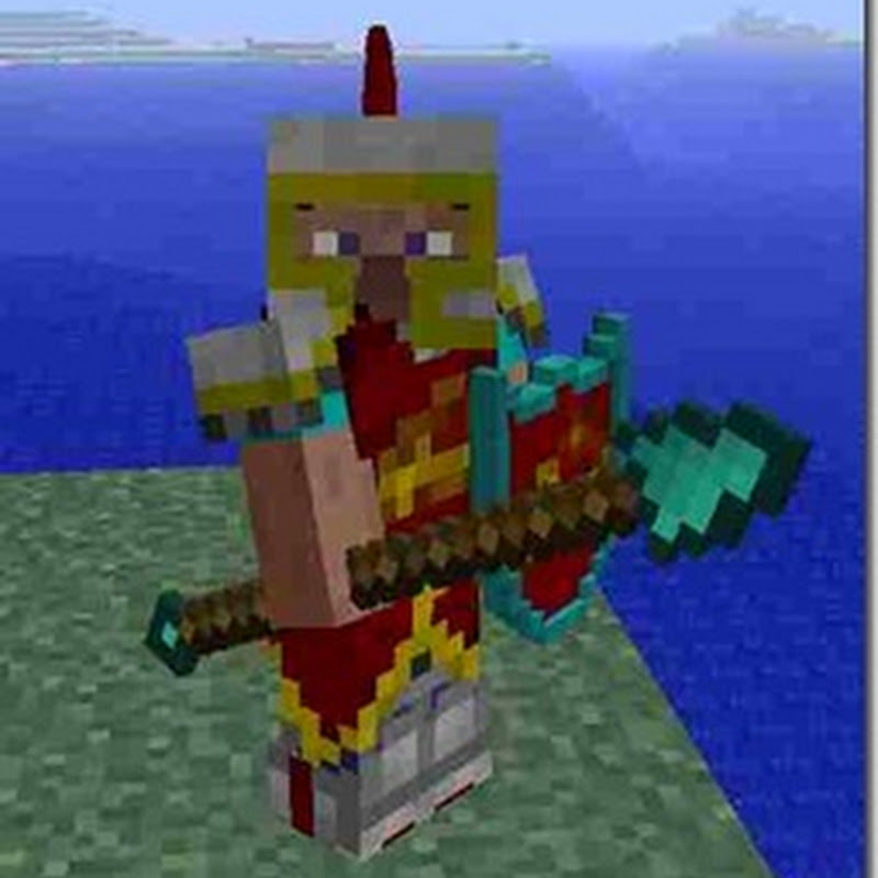Minecraft 1.2.5 - Mine & Blade Battlegear (nuove armi e scudi)