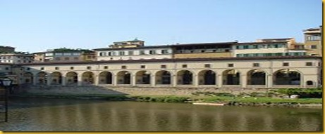 Firenze - Corridoio Vasariano 2