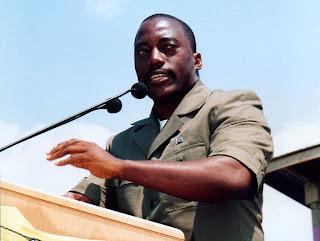 – Joseph Kabila, président de la RDCongo, 7/07/2006. (droits tiers)