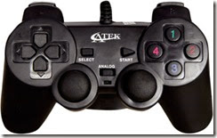 Atek ATK Vibration Gamepad (For PC) at Rs. 249 only