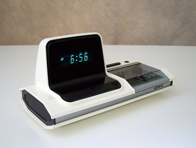 Electer EL-110 digital alarm clock made in Japan by Tonan