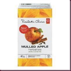 pc mulled apple tea