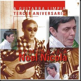A Guitarra Limpia - Homenaje a Noel Nicola - portada delantera