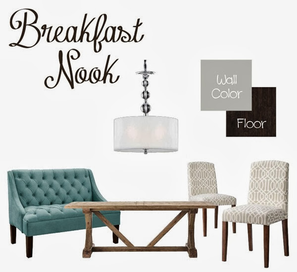 Breakfast Nook Design Board