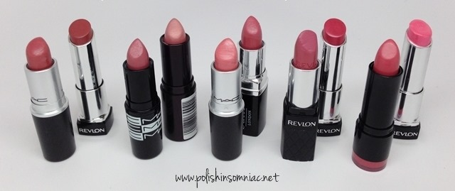 Top Ten Pink Lipsticks