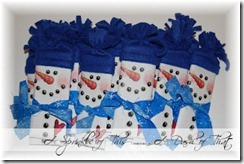 Snowman Wrapped Candy Bars Tutorial {A Sprinkle of This . . . . A Dash of That}