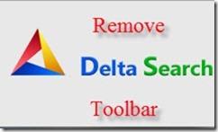 remove delta search toolbar