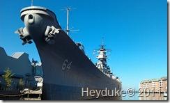 10-7-2011 Norfolk, VA USS Wisconsin