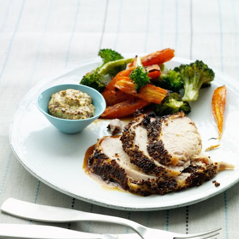 Mustard-Crusted Turkey Breast