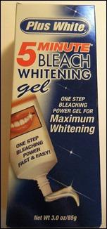 Plus White 5 Minute Bleach Whitening Gel