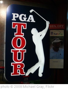 'PGA Tour Sign September 2008' photo (c) 2008, Michael Gray - license: http://creativecommons.org/licenses/by-sa/2.0/
