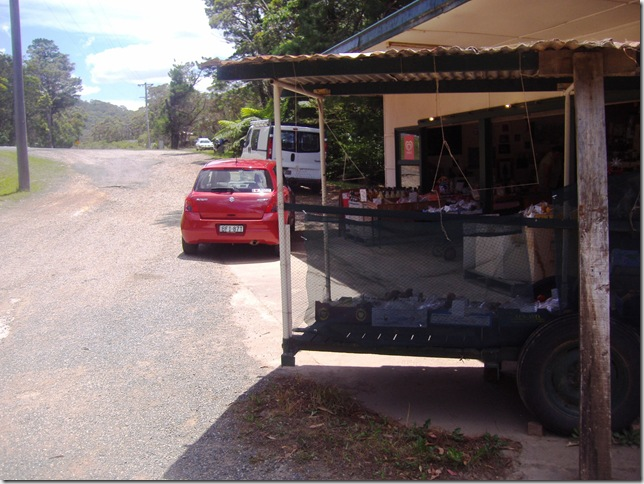 Fruit stall, Bell's Line of Road
