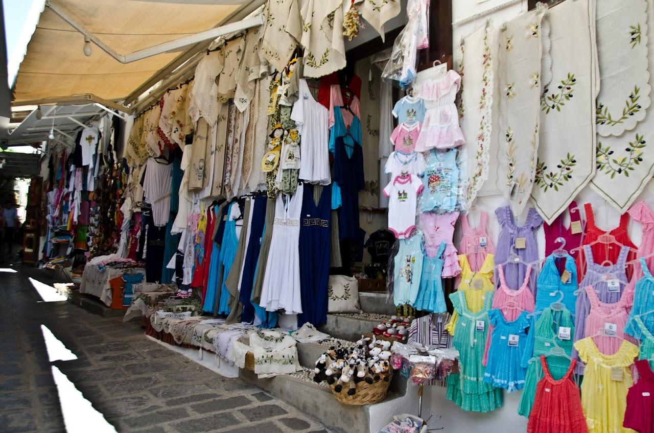 Shops in Rodos