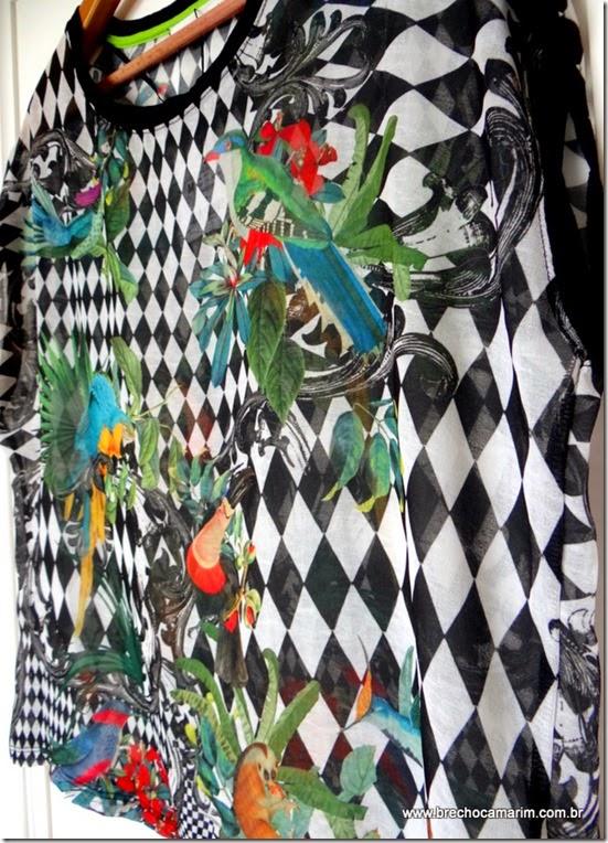 blusa estampada Zara no Camarim-005