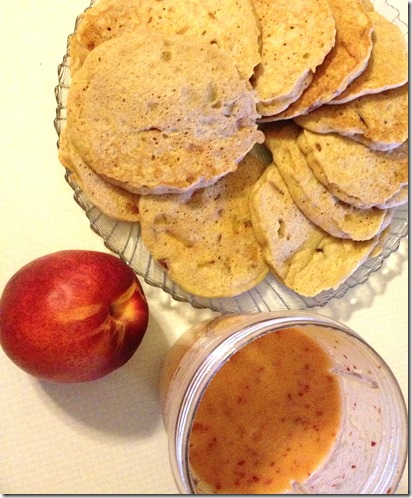 Peachy Pancakes 2