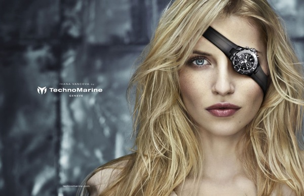 Technomarine watches ad campaign advertising fall winter 2011 2012