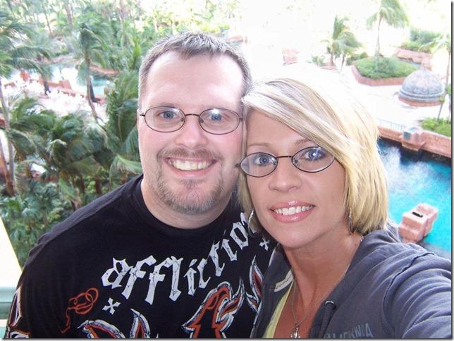 Greg and Dana on trip