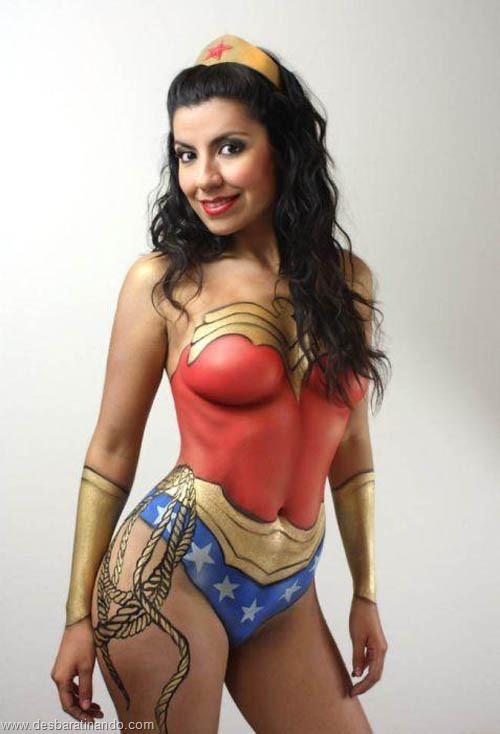 pintura corporal body art sexy hot lindas mulheres sensuais desbaratinando (29)