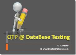 QTP_DBTesting