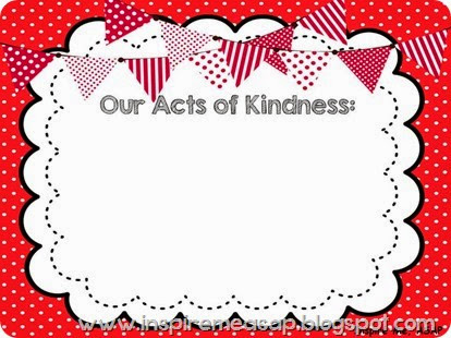 random acts of kindness in the classroom