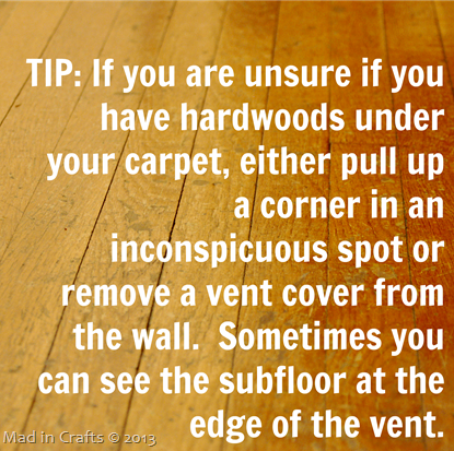 Tip for Checking Subfloors