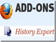 Esportare la cronologia internet di Firefox in un documento di testo o XML, HTML, JSON