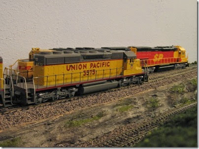 IMG_0446 Southern Pacific Kodachrome Tunnel Motors on My Layout on April 5, 2008
