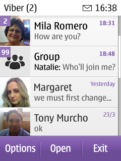 Viber for Nokia S40