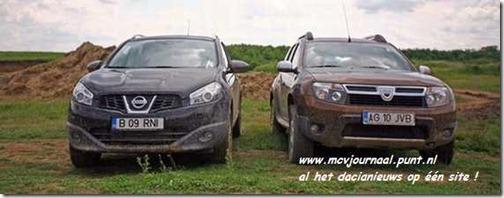 Dacia Duster vs Nissan Quashqai 02