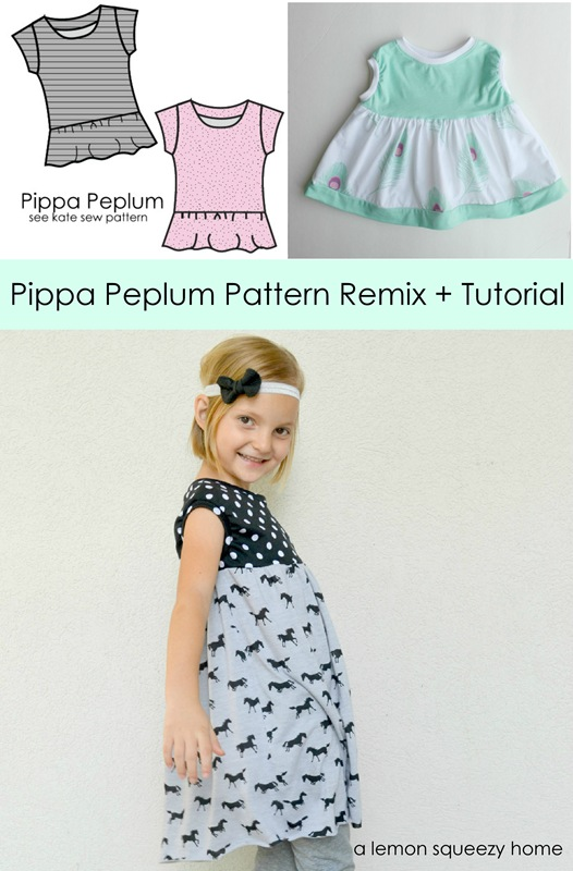 Pippa Peplum Pattern Remix Tutorial
