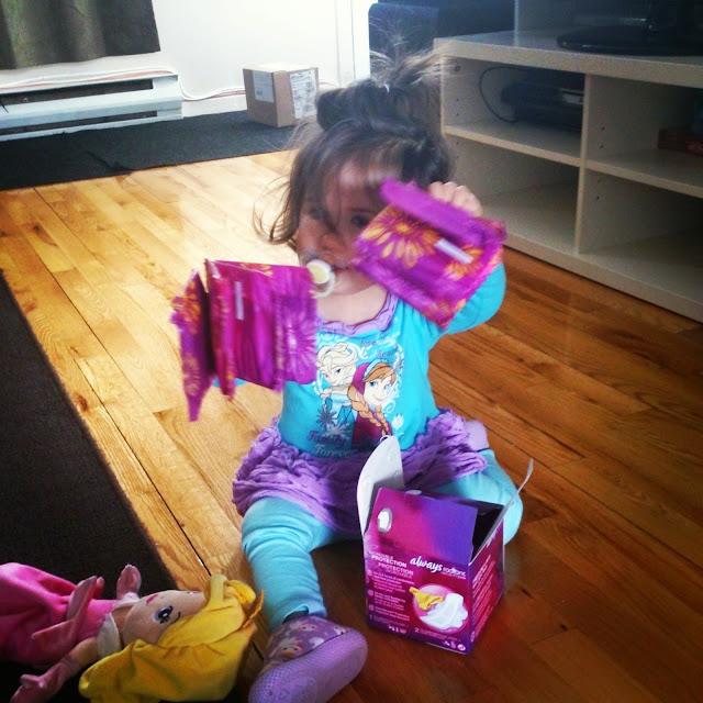 Play #LikeAGirl: Mini Radieuse sera grande un jour... En attendant, on joue #MamanPG