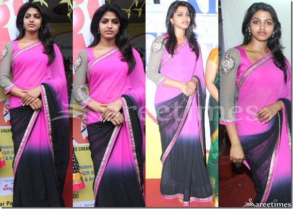 Dhanishka_Dual_Color_Saree