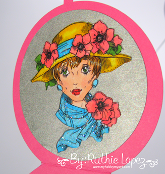 Rick St. Dennis - Poppy -Mirror Card - Tarjeta en forma de espejo -Ruthie Lopez. 4