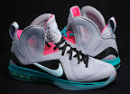 nike lebron 9 ps elite grey candy pink 8 04 LeBron 9 P.S. Elite Miami Vice Official Images & Release Date