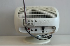 white Philco TV
