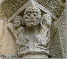 Castigos del infierno - San Miguel de Olcoz