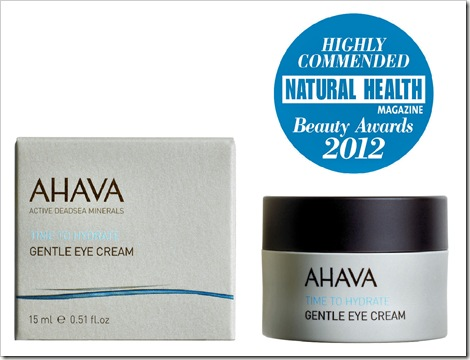 Gentle Eye Cream - Highly Commended 2012