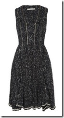 Willow Zip Front Boucle Dress