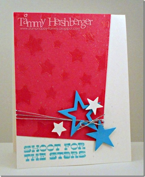 Color Throwdown #299 with My Favorite Things Stacking Stars by Tammy Hershberger