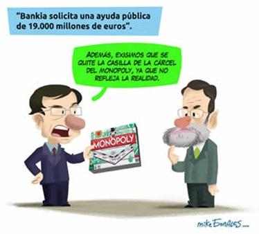 Bankia, monopoly