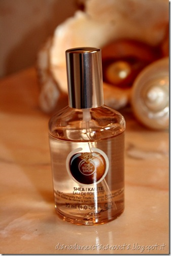 The body shop eau de toilette karitè