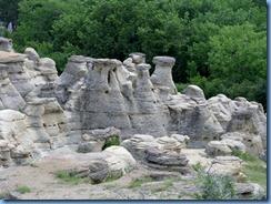 1874 Alberta - Writing-On-Stone Provincial Park - hoodoos