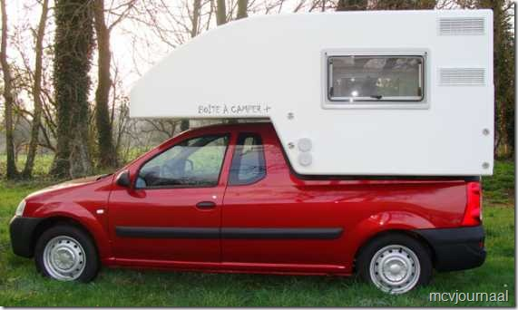 Dacia Logan MCV Camper 22