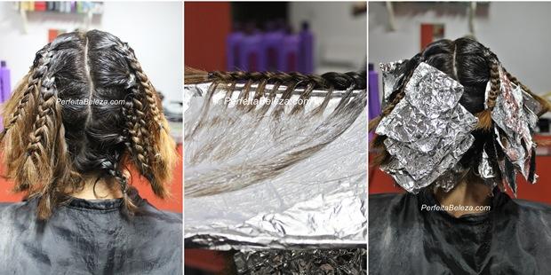 como fazer ombre hair