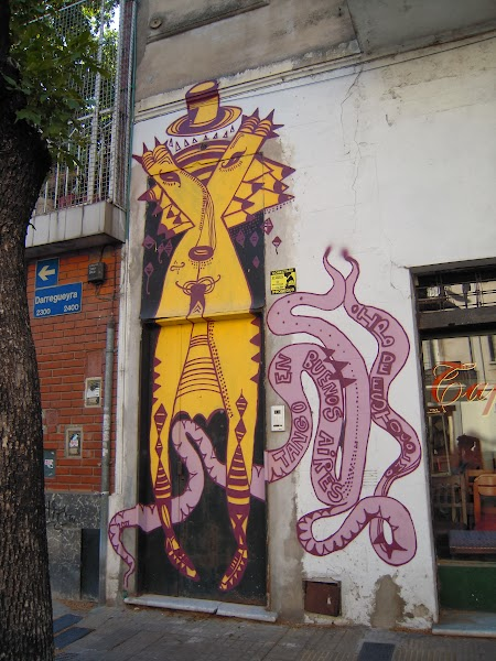 Graffitti in Buenos Aires