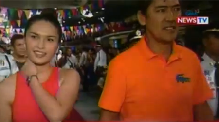 Pauleen Luna and Vic Sotto