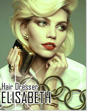 Hair dresser Elisabeth