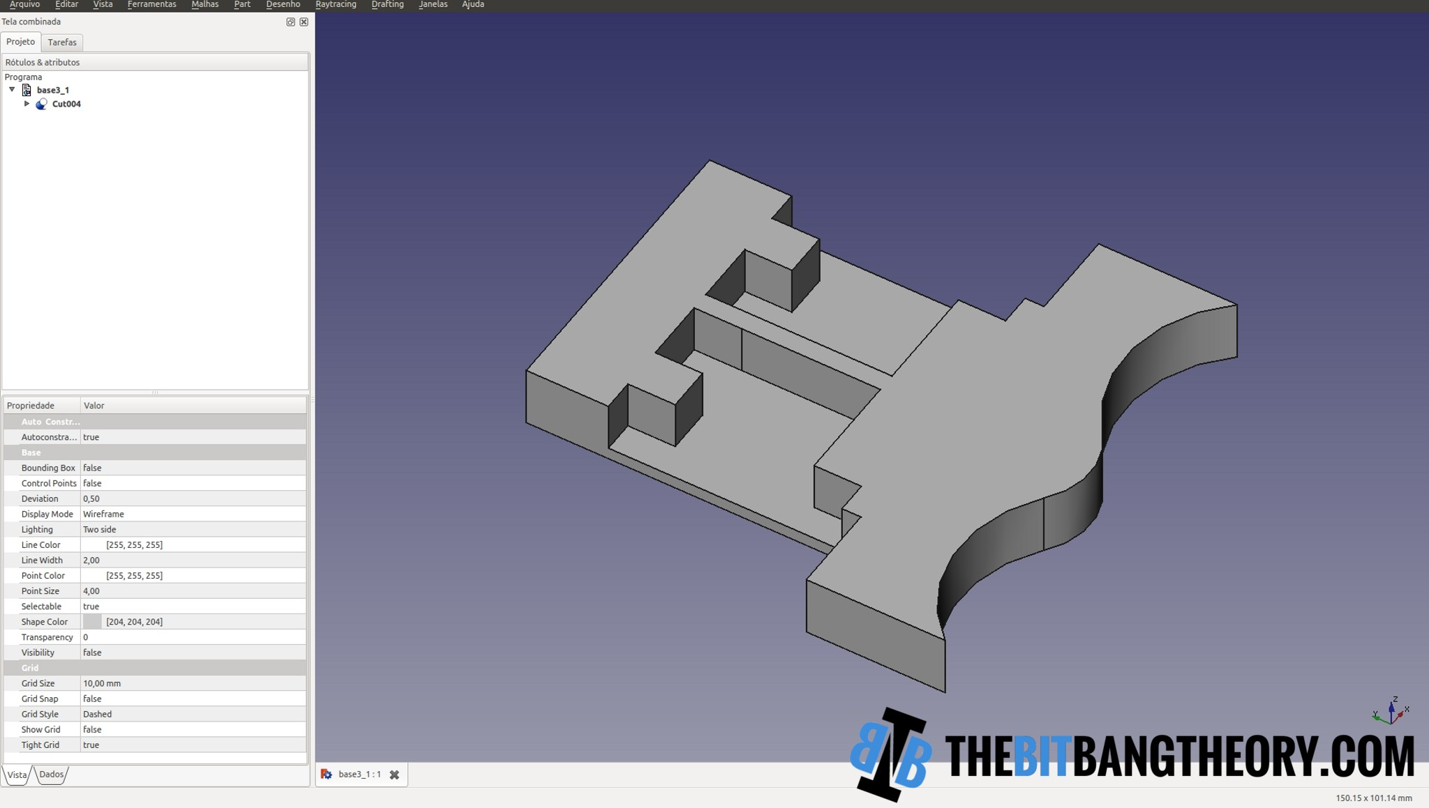 Freecad screenshot